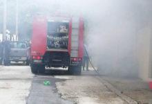 Photo of Φωτιά σε κατάστημα αλουμινοκατασκευών στην Πέραμο
